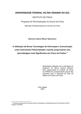 - Repositório Institucional da UFRGS