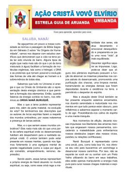 Julho 2014 - ACVE - Ação Cristã Vovô Elvírio