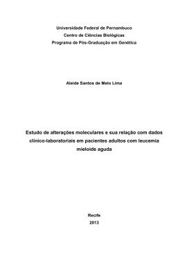 Dissertação Aleide Lima - Universidade Federal de Pernambuco