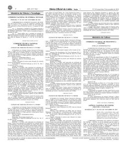 Portaria CNEN-PR nº 107, de 05 de novembro de 2010