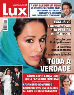 Entrevista com RITA PEREIRA em Marrocos EXCLUSIVO