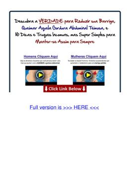 pdf Vídeo Revela Dicas de Como Eliminar Gordura Corporal Q1ur