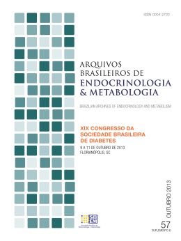 PDF - 3.6 MB - Archives of Endocrinology and Metabolism