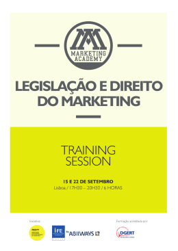 Programa - Marketing Academy