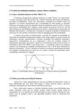 3. O efeito da cintilação luminosa: causas, efeitos - DSCE
