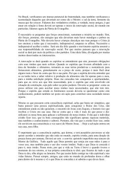 PodSim 64 A Fome no Mundo Grupo Marcos