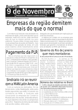 Empresas da região demitem mais do que o normal