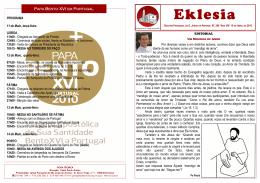 Eklesia - Paróquia de São Jorge de Arroios