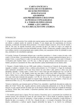 Carta Encíclica aos Bispos, Presbíteros, Diáconos e às Pessoas