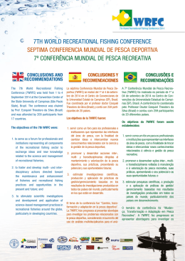 7th world recreational fishing conference septima