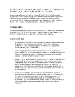 Brasilia declaration