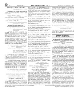 14 1 Ministério da Agricultura, Pecuária e Abastecimento