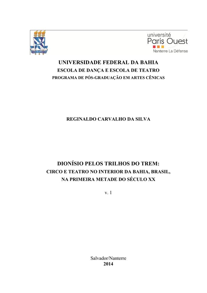 universidade federal da bahia dionísio pelos trilhos do trem 84d6b0ef95