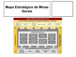 GERAES – Projetos Estruturadores Metodologia
