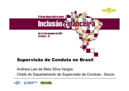 Supervisão de Conduta no Brasil