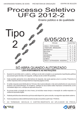 Tipo2 - Vestibular