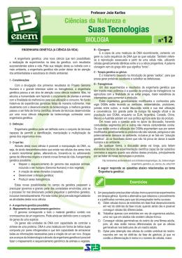 08101714 - FB ENEM Nº 12 - Biologia_João Karllos.indd