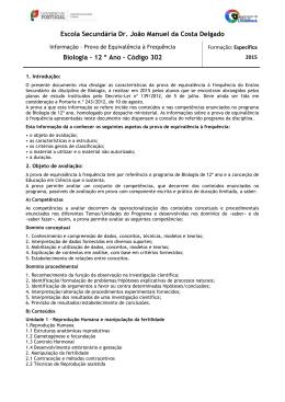 Código 302 - Agrupamento de Escolas da Lourinhã