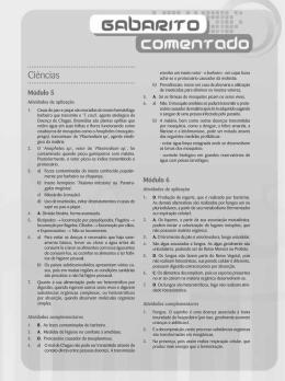 ef7al2_gabarito_come.. - Sistema de Ensino Futuro