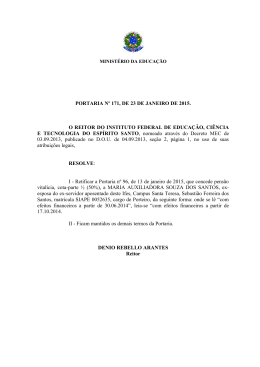 2015 - retifica p. 96- 2015 - Instituto Federal do Espírito Santo