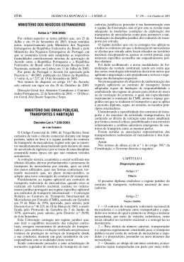 6546 MINISTÉRIO DOS NEGÓCIOS ESTRANGEIROS