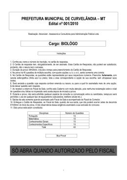 CV-Biológo - Curvelândia