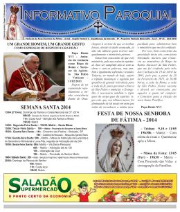 ip-abril-2014 - Paróquia Nossa Senhora de Fátima