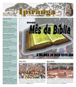 Edição Setembro 2011.pmd - Paróquia Nossa Senhora da