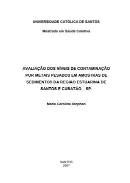 Maria Carolina Stephan - unisantos