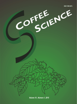 Revista Coffee Science vol. 10, n° 1, 2015