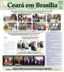 Assembléia Geral da Casa do Ceará aprovou Contas, Relatório de