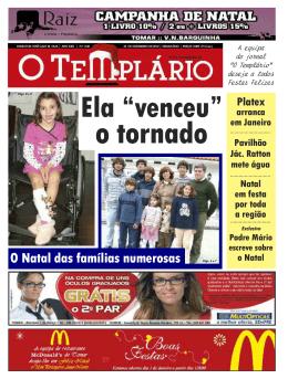 Tomar - Jornal O Templário