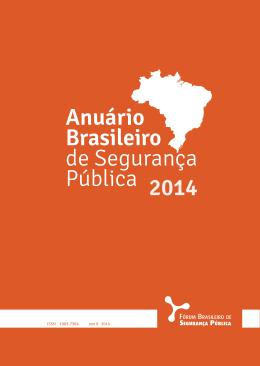 Anuário Brasileiro de Segurança Púbica