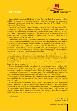 (i) as Feiras Novas No - Associação Empresarial de Ponte de Lima