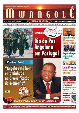 Abril S2 - Embaixada da República de Angola em Portugal