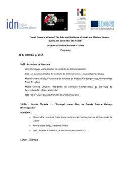 Programa em português
