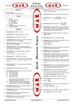 teste teste - Prof. Marcelo Lopes