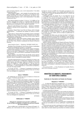 Deliberação n.º 1195/2014