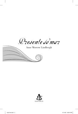 Presente do mar - Livraria Martins Fontes