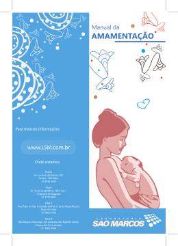 folder AMAMENTAÇÃO