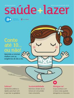 Confira a 6ª Edição da revista +saúdelazer