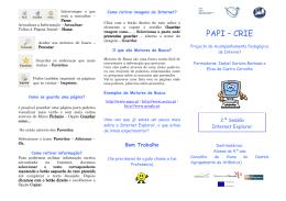 Desdobrável do Internet Explorer (Viana) - CRIE 06