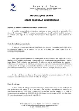 Laerte J Silva - Tradutor Juramentado