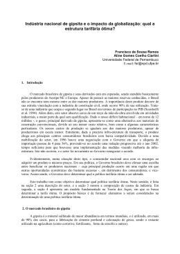 ENEGEP2000_E0163 Indûstria nacional de gipsita