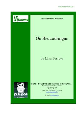 Os Bruzundangas - Domínio Público