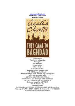 Agatha Christie – Aventura em Bagda