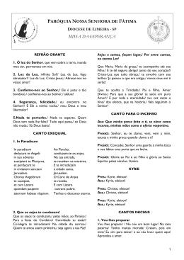 Missa Páscoa 2014.docx - Paróquia Nossa Senhora de Fátima