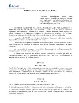 Resolução nº 010, de 13 de maio de 2011