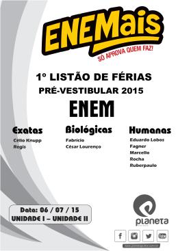 ENEM - Colégio Planeta