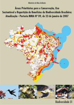 Areas prioritarias para conservação